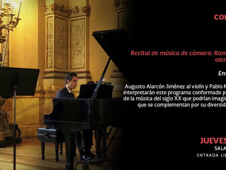 Recital de música de cámara   13 de diciembre 2018   Fonoteca Nacional   Ciudad de México