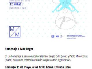 Concierto al mediodía | 15 de mayo 2016 | Centro Cultural Universitario Tlatelolco, CDMX