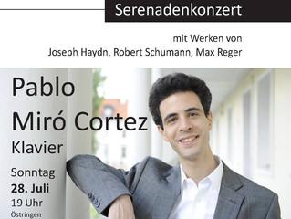 Tastenzauber - Serenadenkonzert | 28 Juli 2013 | Östringen, Deutschland