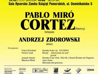 Recital fortepianowy | 15.10.2008 | Pablo MIRÓ CORTEZ | Słupsk, Polska