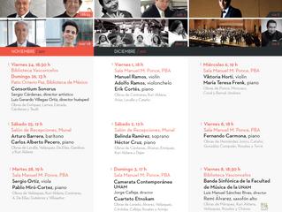 Emociones Sonoras - 30 Aniversario de Música de Concierto de México | 28 de noviembre 2017 | CDMX
