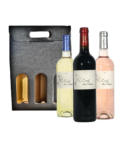 """Coffret 3 bouteilles """"L'Envol des Perdrix"""""""