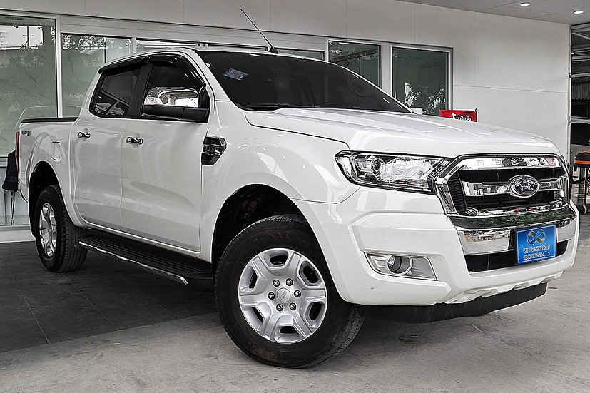 FORD RANGER ALL-NEW DOUBLE CAB HI RIDER XLT 2.2  สีขาว ปี2018