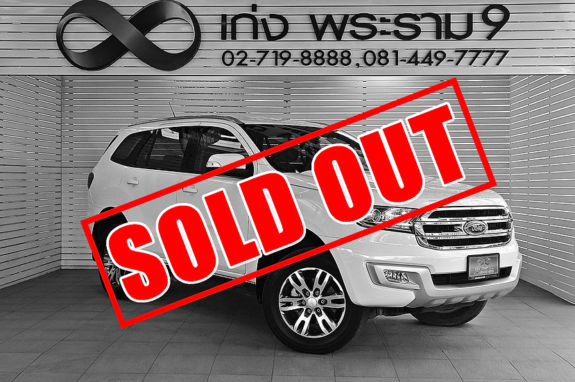 FORD EVEREST 2.2 MNC Titanium สีขาว ปี 2017