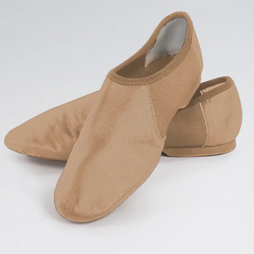 WIDE FIT - Tan Jazz Shoes