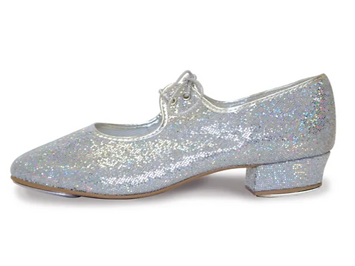 Holographic Tap Shoes