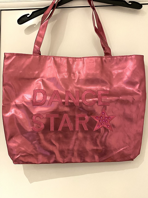 Pink Holographic Dance Bag