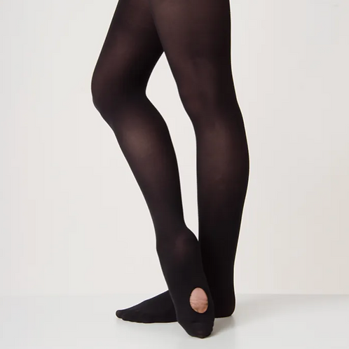 Convertible Black Tights
