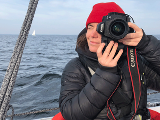 Jana back onboard with her eye and camera