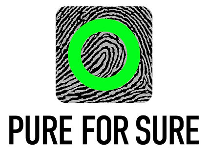 PureForSure_Logo_RingGreenFingerBlack30_