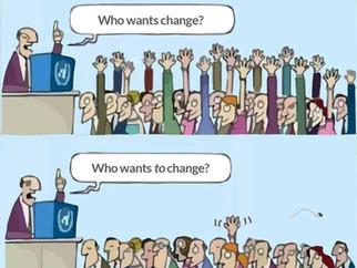 Challenging change sure is inspiring