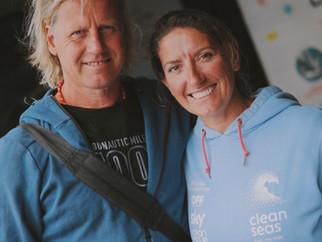 Meeting with Skipper Dee Caffari at the VOR Ocean Summit