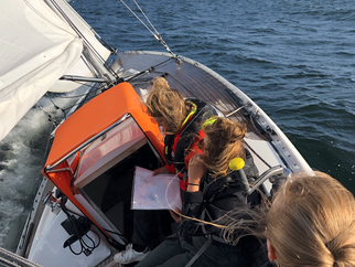 First trip with the all-female racing team