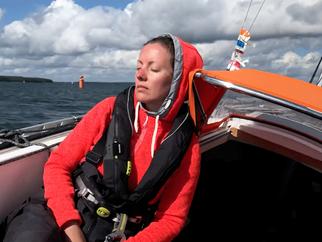 Wind, wind, wind – in da face to Hankö