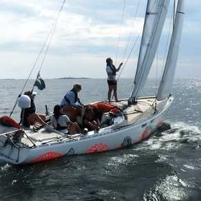 """Sail-off for """"Gotland Runt Unplugged"""""""