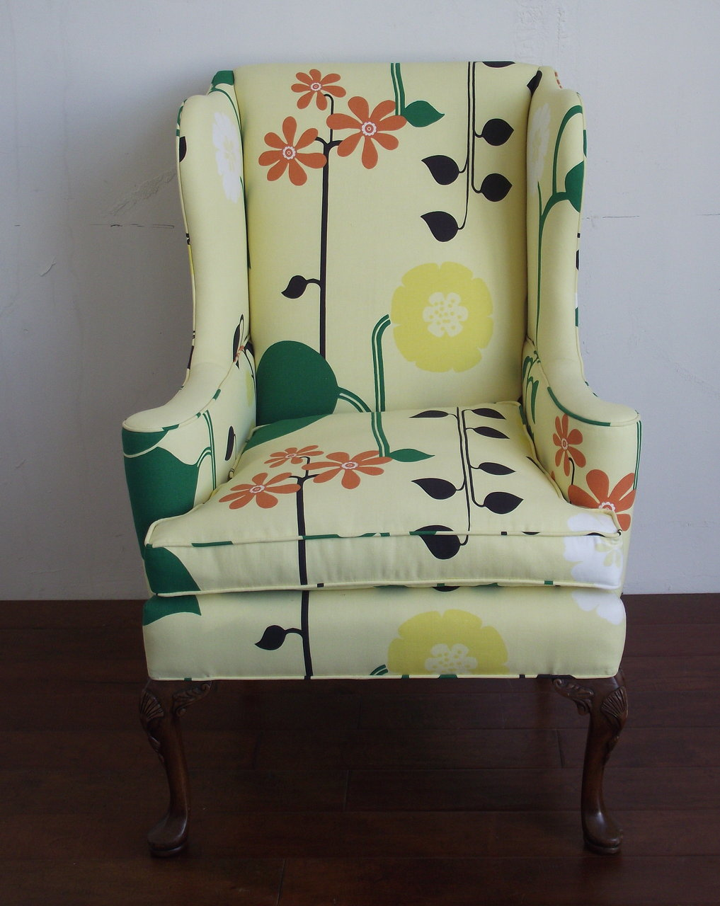 FLORAL WINGBACK