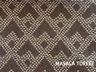 FABRIC OF THE WEEK : MASALA TOFFEE