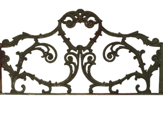 WROUGHT IRON ARCHITECTURAL PIECE $500