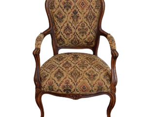 FRENCH STYLE PETITE ARMCHAIR $325