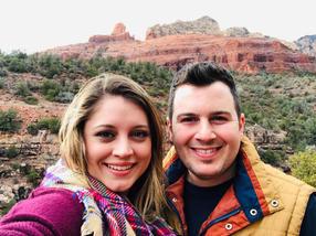 Pastoral couple, AZ retreat