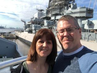 Pastoral couple, VA retreat