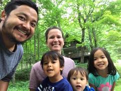 Missionary family, TN retreat