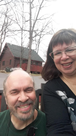 Missionary couple, WI retreat