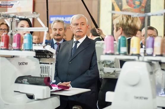 Георгий Полтавченко в Центре импортозамещения и локализации.