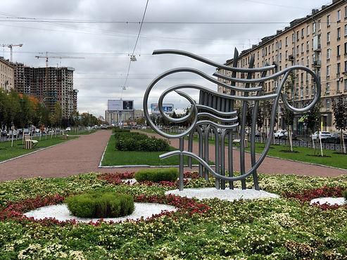 В Московском районе завершились работы по благоустройству