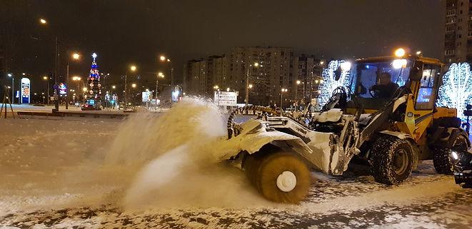 Петербургские дорожники продолжат работу в усиленном режиме 2 января