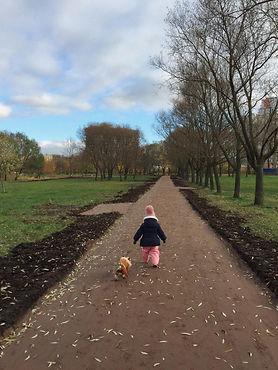 В Пулковском парке завершились ремонтные работы