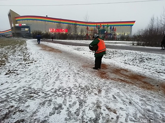 В Петербурге сегодня скользко