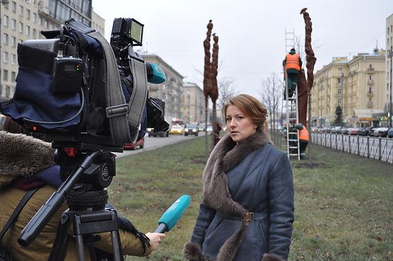 Деревья Петербурга утепляют к зиме