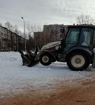 Вывоз снега в Московском районе
