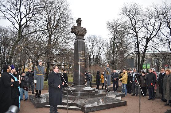 В Петербурге открыли памятник графу Милорадовичу