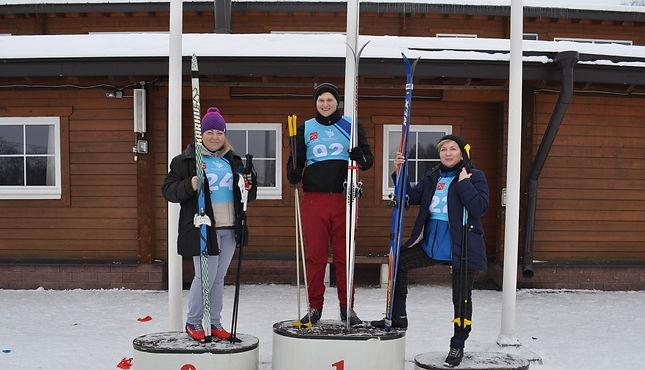 В Санкт-Петербурге участники сдали нормы ГТО по лыжным гонкам