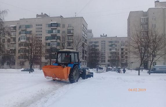 В Петербург вернулась метель