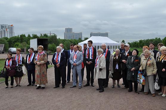 Торжественная церемония в память первых почетных граждан Санкт-Петербурга