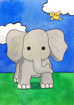 ElephantWCPrint5x7