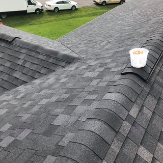 Completed Shingle Roof