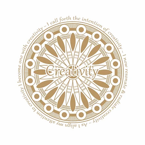 """Creativity"" Vibrational Sticker"