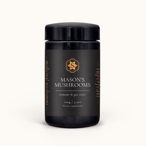 MASON'S MUSHROOMS Immune & Gut Tonic