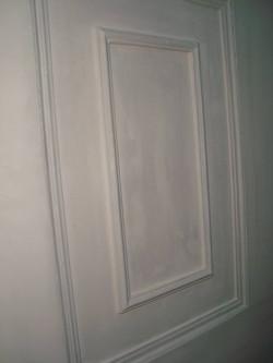 Detail of interior door