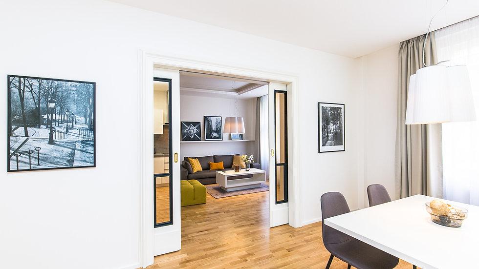 Úžasný prostorný byt 3+1 v centru na Starém městě