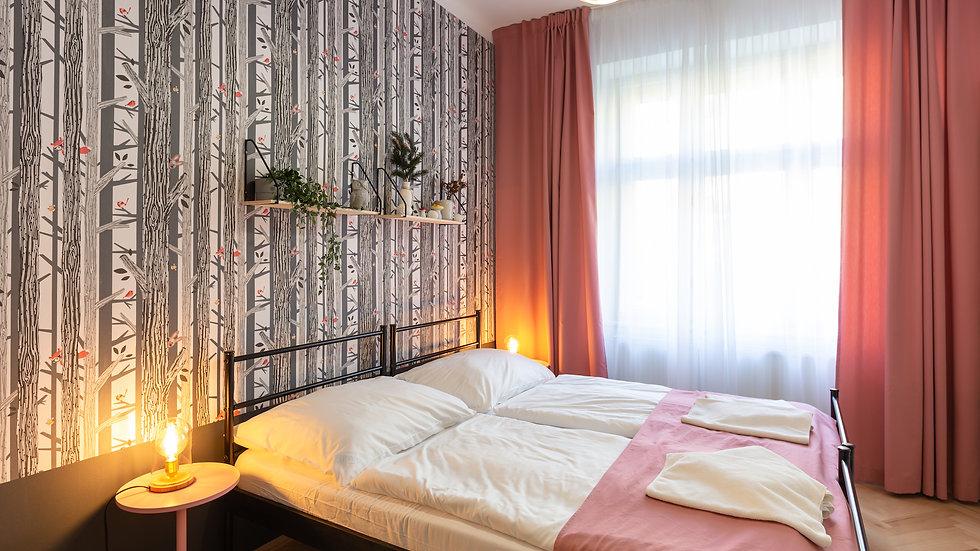Quiet space in Prague 2 with ensuite bathroom