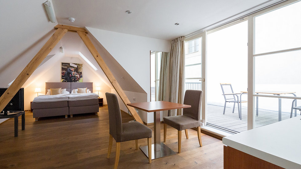 Prague castle apartment with terrace and views!