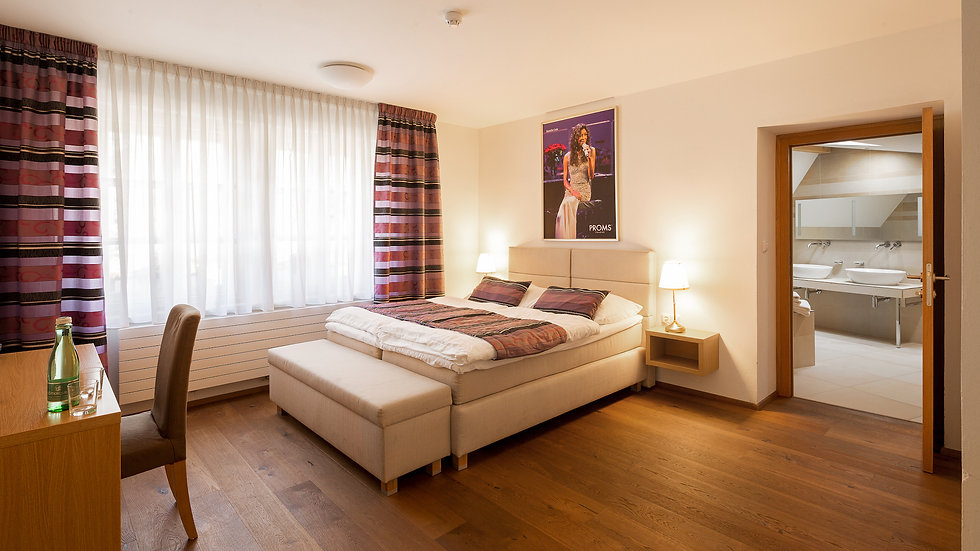 Private studio + terrace in Prague Castle district