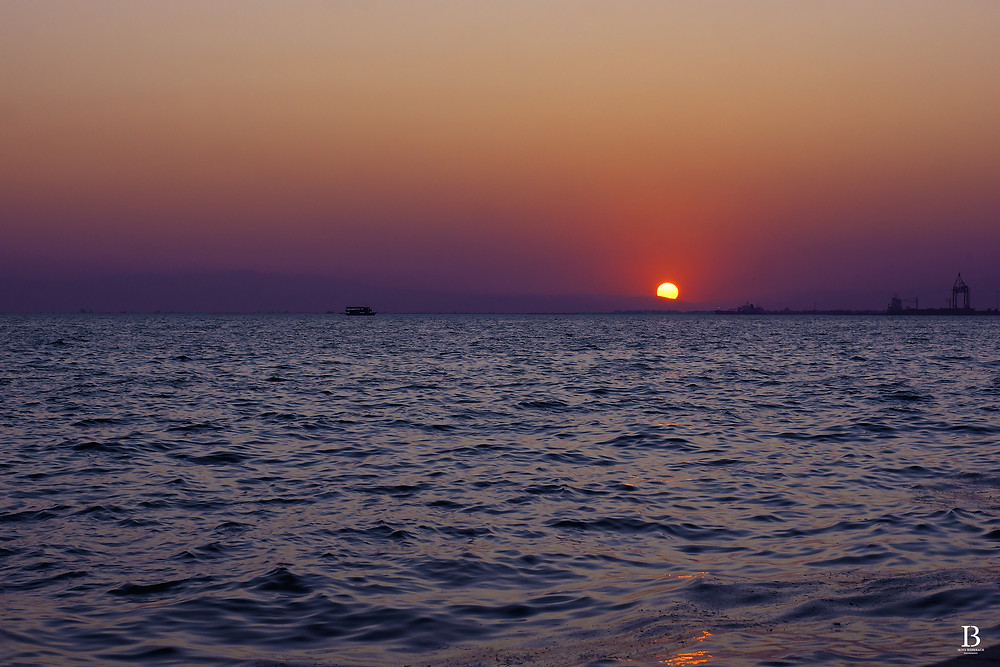 Sunset at Thessaloniki