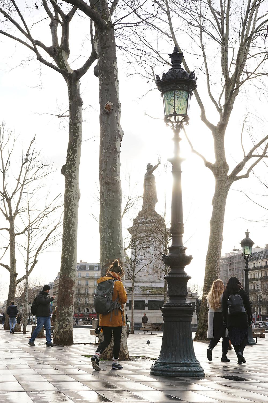 Team-building day in Paris.