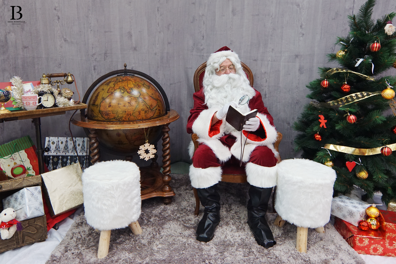 Santa Klaus is in town